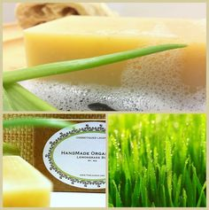*NEW Handmade #Organic Lemongrass Soap by Cosmetiques Laudun / Crème NOW available on OpenSky. http://www.opensky.com/thelaudun/product/organic-lemongrass-soap.  An excellent natural soap cut by hand and created with the purest essentials oils The deliciously scented citrus fragrance makes it a pleasure to use. Enjoyed by men & women alike.