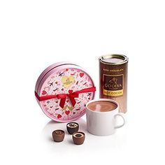 Godiva Chocolatier Valentines Day Dark Cocoa Gift Set * You can get additional details at the image link.