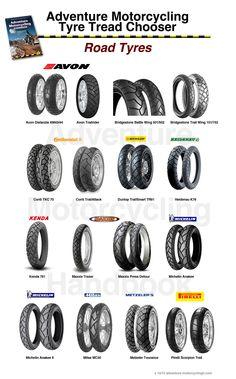 Motorcycle Touring, Motorcycle Tires, Moto Bike, Three Wheel Bicycle, Tyre Tread, 1200 Gs Adventure, Triumph T120, Klr 650, Bmw Boxer