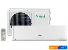 Ar-Condicionado Split Consul 12.000 BTUs - Quente/Frio Facilite CBW12AB com Sistema Imuni