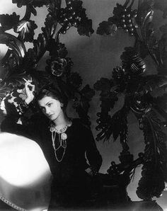 Coco Chanel 1934  by Horst P Horst