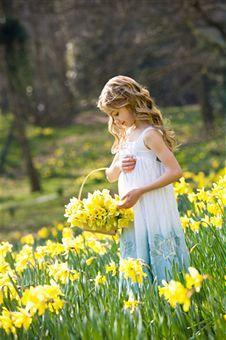 Picking flowers...