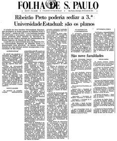 Ribeirão Preto poderia sediar a 3ª Universidade Estadual: são os planos
