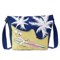 Donald Duck Resort Weekend Messenger Bag