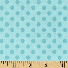 Riley Blake Laminate Small Dots Tone on Tone Aqua from @fabricdotcom  Designed by RBD Designers for Riley Blake, this laminated cotton print fabric meets the key provisions of the CPSIA (Comprehensive Consumer Product Safety Improvement Act of 2008). This fabric does not contain any lead or thyolate. Soft, protective film is laminated to the face of the fabric, its softness makes this cloth extremely pliable for fashion, and the durability combined with easy-care convenience (cleans up ...