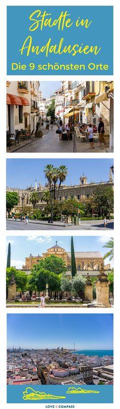Die Region Andalusien liegt in Spanien im Süden. Neben einer tollen Natur, Stränden und Landschaften gibt es vor allem eins hier. Städte und Sehenswürdigkeiten! In diesem Beitrag findest du alle wichtigen & interessanten Orte für deine Andalusien Rundreise bzw. Urlaub.