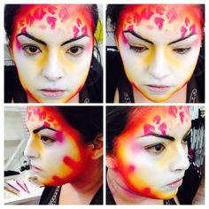 #CirqueMakeUp #MakeUpStudent #MakeUpArtist #Airbrushing #AirBrushMakeUp #Iwata #Temptu #MAC #CharacterMakeup #ARt #Passion #Love #Artist #MUA 💛💗❤️