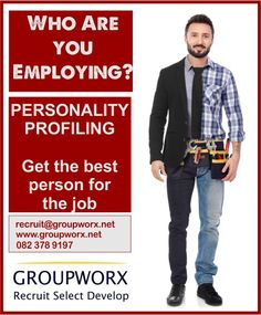 Personality profiling paints a detailed picture of your candidates to ensure we make a well-rounded decision when it comes to employing. Contact us at 082 378 9197 for personality profiling, recruitment, and selection of employees. Good Employee, Business Management, The Selection, Personality, Things To Come, People, How To Make, People Illustration, Folk