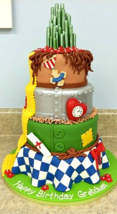 Amazing Wizard of Oz Cake I was just too try this one or would love to make once like this
