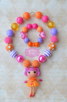 Lalaloopsy Mini Peanut Big Top Doll lala by AppleBearyBowtique, $20.00