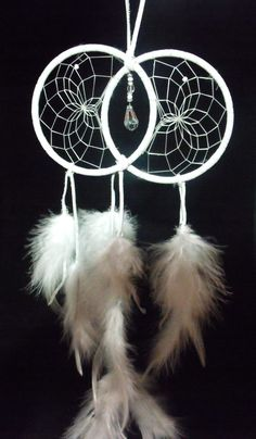 White Soul Connection Dreamcatcher