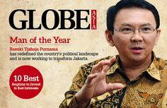 """Ahok di Nobatkan Sebagai """"Man Of The Year"""" Versi Majalah Globe Asia!"""