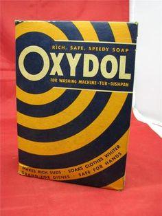 Vintage Oxydol Laundry Detergent Circa 1940s