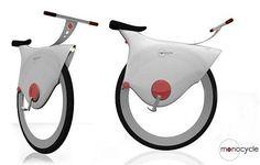 wheels, balance....Monocycle is the world's first self balancing bike