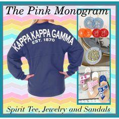 """Spirit Tee Shirt"" by thepinkmonogram on Polyvore"