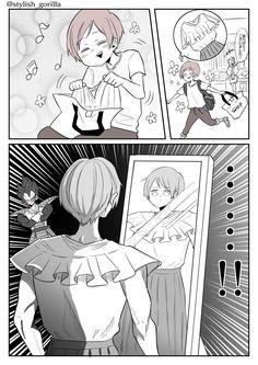 夏ノ瀬 いの🦍「もう頑張れない…(以下略)」発売中 (@stylish_gorilla) さんの漫画 | 84作目 | ツイコミ(仮) Manga, Comics, Stylish, Anime, Manga Anime, Manga Comics, Cartoon Movies, Cartoons, Anime Music
