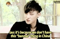 Tao's special talent: Making excuses 2/10