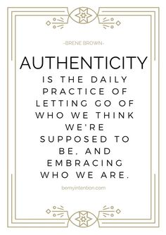 brene brown authenti