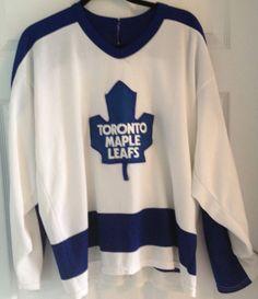 77b2a8dae 80 s Toronto Maple Leafs Jersey   NHL Hockey by RetroFreshTees