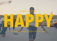24 Hours of Happy. Absolutely love this idea and fantastic digital execution too