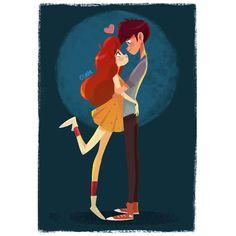 I love you #illustration #art #drawing #love by violet1202