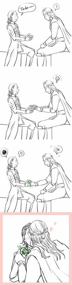 Owwww #Thorki