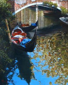 RAFFAELE FIORE ARTIST   Originals Paintings of Venice by Fiore