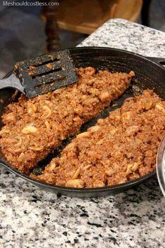 Slow Cooker Deep Dish Lasagna Sausage Spaghetti, Sausage Pasta, Eggplant Lasagna, No Noodle Lasagna, Deep Dish, Recipe Today, Pasta Dishes, Slow Cooker Recipes, Gluten Free Recipes