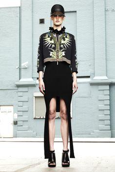 Givenchy Resort 2012.  Look 31 - Saskia de Brauw.