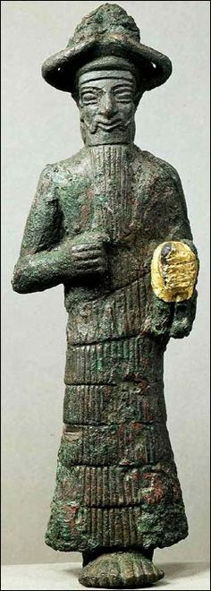 Elamite God, Susa, Iran Beginning of the 2nd millennium BCE