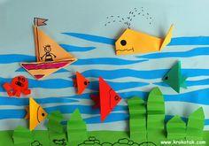 aquarium origami