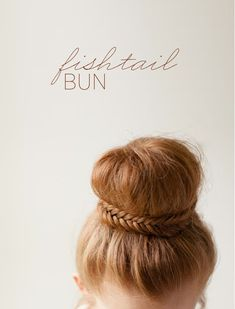 Elegant+Fishtail+Bun+How+To