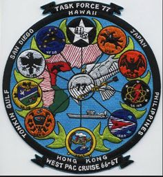 TASK FORCE 77 WEST PAC CRUISE 1966-1967