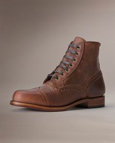 Arkansas Brogue Boot - View All Men's Boots - Western Boots, Harness Boots, & More - The Frye Company $378