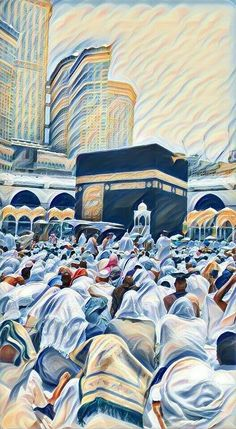 🌸On the occasion of the approach of the pilgrimage season,Let's wish to all Muslims 🌺Haj Mubarak🌺, May Allah's blessing light your way, strengthen your faith and bring joy to your heart. Mecca Wallpaper, Allah Wallpaper, Islamic Wallpaper, Eid Wallpaper, Islamic Images, Islamic Pictures, Motif Art Deco, Islamic Cartoon, Islamic Posters