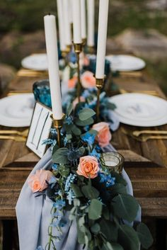 Everything you need to style a romantic outdoor wedding reception dinner under the stars your guests will never forget! Lakeside Wedding, Outdoor Wedding Reception, Outdoor Weddings, Reception Table, Wedding Ceremony, Spring Wedding Inspiration, Elopement Inspiration, Floral Wedding, Wedding Colors