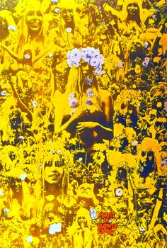 "Martin Sharp  Oz Magazine  ""Plant A Flower Child""  1967"