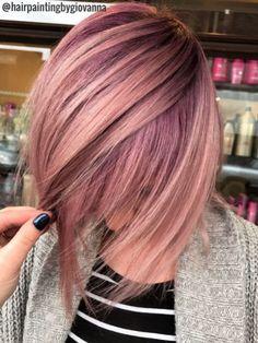 Rose Gold Hair Ideas 2611