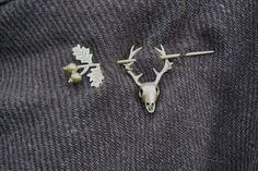 Stag Brooch Celtic Hair Pin Kilt Pin Hat Pin Shawl