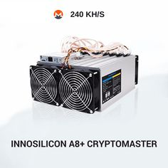 Innosilicon's Miner A8+ CryptoMaster has a power of 240 KH/s on the CryptoNight algorithm for Electroneum (ETN), Electroneum (ETN), Karbo (KRB), Bytecoin (BCN) and MoneroOriginal (XMO). Asic Bitcoin Miner, Mining Pool