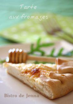Tarte aux fromages & miel - Bistro de Jenna