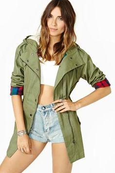 Dad's Army Anorak by #MinkPink