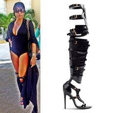 8ad9d0d3c42 Love those shoes Marlo Hampton