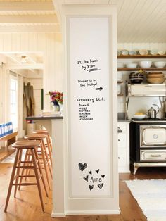 Fancy-fix Self-Adhesive Dry Erase Whiteboard Sticker Peel & Stick Wall Paper Chalkboard Contact Paper Decal for Office, School, Home + 3 Dry Erase Markers + handy By Inches) Whiteboard Sticker, Dry Erase Whiteboard, Wall Sticker, Wall Decals, Dry Erase Wall, Dry Erase Board, Dry Erase Paint, My New Room, Home Organization