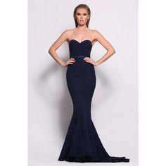 Arianna Dress By Elle Zeitoune in Navy