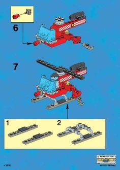 Thousands of complete step-by-step printable older LEGO® instructions for free. Here you can find step by step instructions for most LEGO® sets. Lego Activities, Craft Activities For Kids, Lego Projects, Projects For Kids, Legos, Lego Club, Lego Craft, Lego Construction, Lego Room
