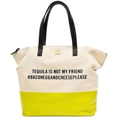 Pre-owned Kate Spade Call To Action Tequila Tote Bag ($161) ❤ liked on Polyvore