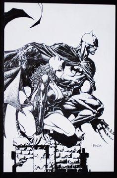 Batman & Catwoman by David Finch