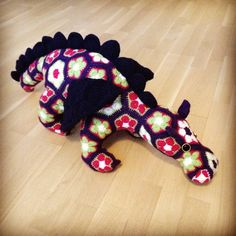 Smaug the African Flower Dragon by Heidi Bears