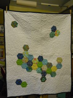 """A Baby Boy Quilt  """"sprinkles""""  ? kind of- but not exactly"""